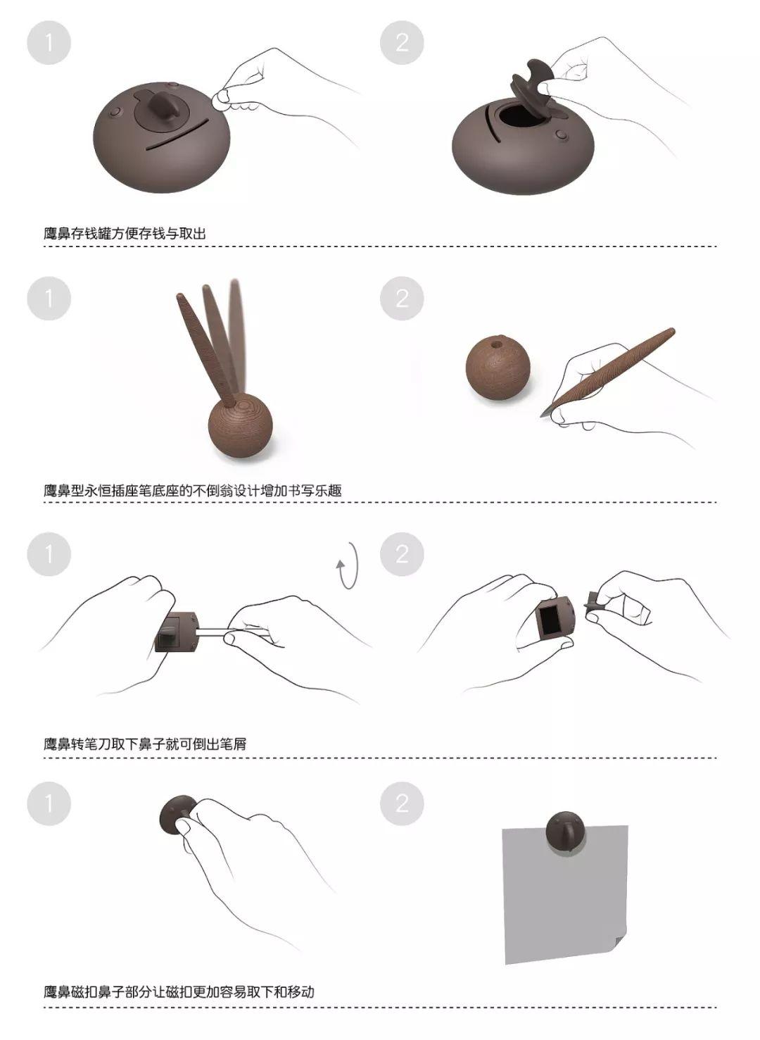 【手绘周报-第36期】创意文具设计